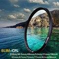 ZOMEI Ultra Slim AGC Optical Glass PRO CPL Circular Polarizing Polarizer Camera Lens Filter 49/52/55/58/62/67/72/77/82/86mm Lens