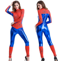 Women Sexy Costume Sensible Seductress Costume Super Female Hero Costumes Teddy Uniform Halloween Cosplay Bodysuit Outfit