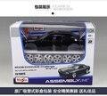 2008 Dodge Challenger SRT8 1:24 Maisto coche Montado modelo DIY Fast & Furious American Muscle Car kids toy simulación regalo