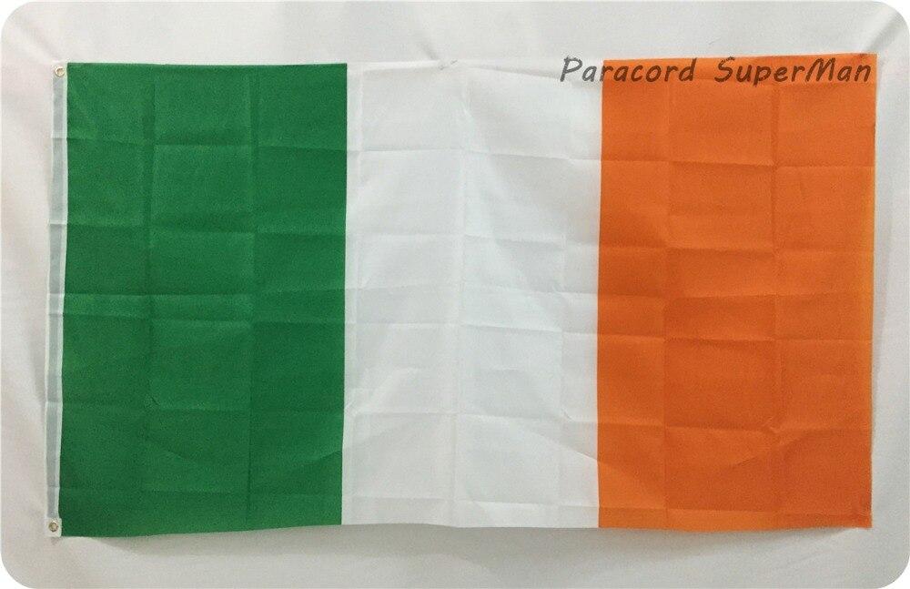 50 unids/lote Envío Expreso libre Irlanda irlandés tricolor bandera ...