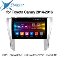 For Toyota Camry 2014 2015 2016 Car Android Auto DVD GPS Navigator Multimedia Radio Player Stereo Audio On Board Computer PC Pad