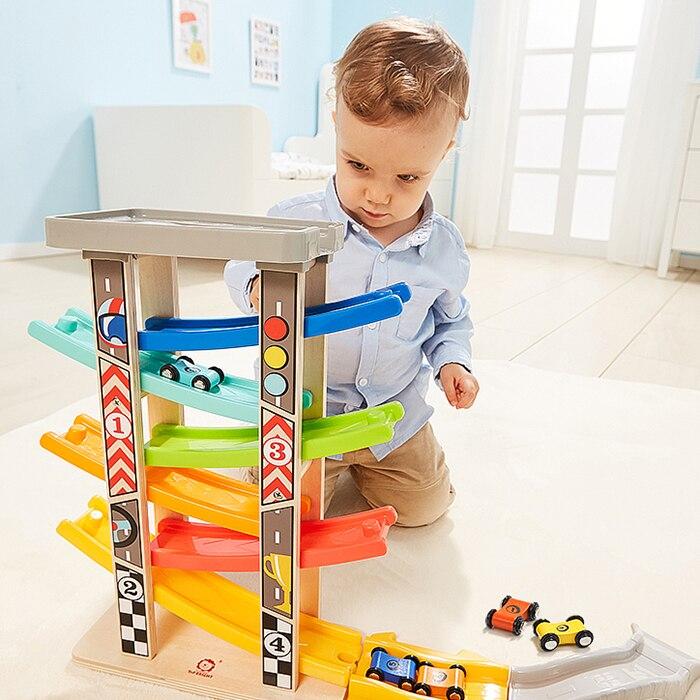 Origineel Topbright Zweefvliegen Auto Model Baby Kids Toy Gift Voor Intelligentie Verbetering 6 Stks Ontwikkelen Baby's Motor Vaardigheden Gift Leren Speelgoed Kortingen Prijs