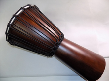 JinDi 10 Djembe drum African drum Mahogany body Percussion Musical instrument