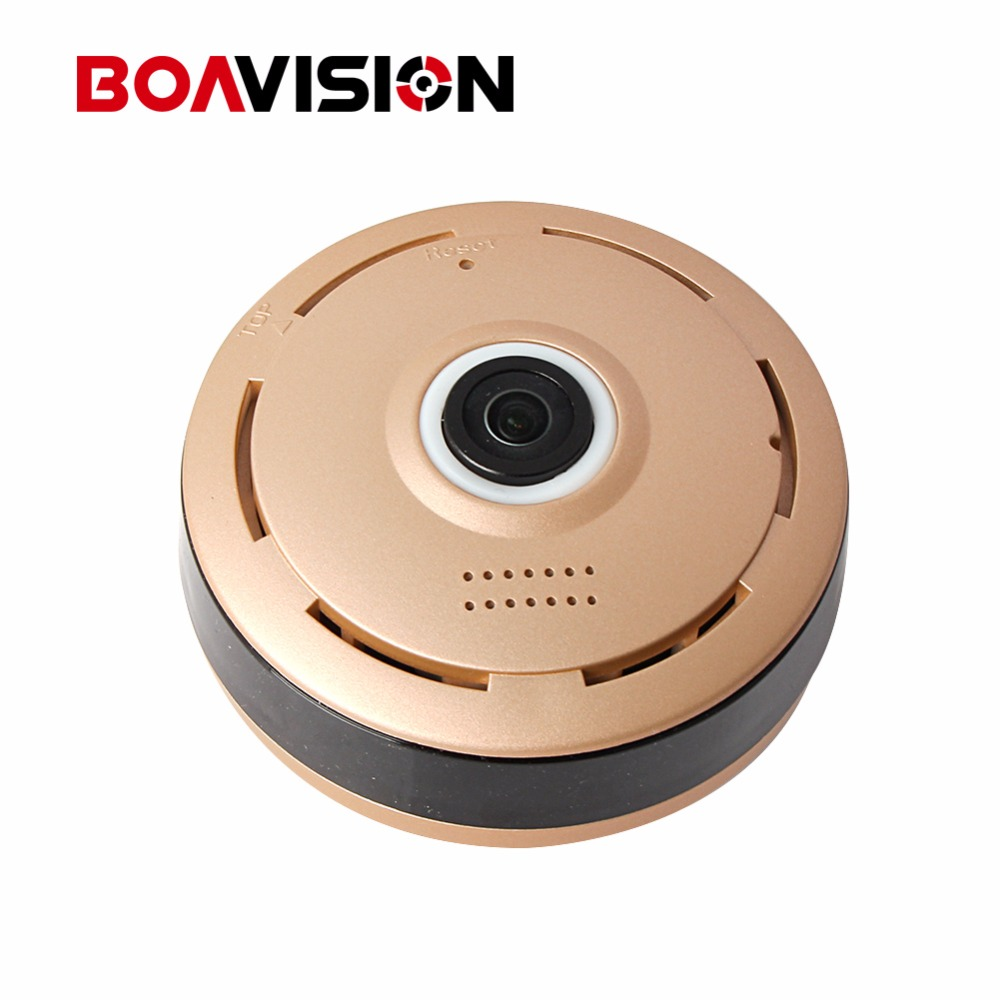 HD 960P 3D VR WIFI IP Camera 360 Degree View Night Vision Mini Wireless Baby Monitor