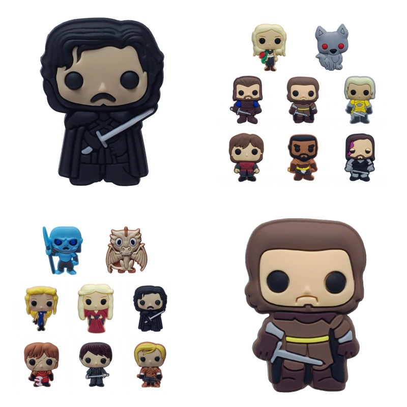 8pcs Game Of Thrones Magnetic Stickers Pvc Blackboard Magnets Hot Movie Figure Fridge Magnets Kids Diy Toys Party Gift