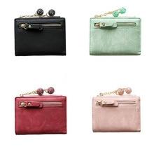 2020 New Fashion Mini Coin Purse Women Simple Short Wallet Coin Purse Card Holders Handbag monederos para mujer A50