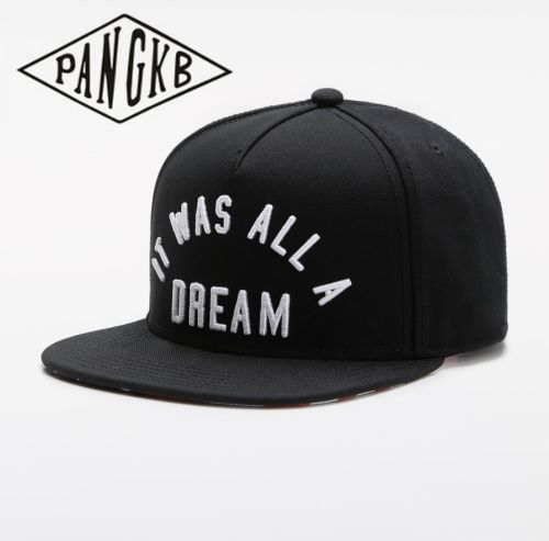 PANGKB Brand IT WAS ALL A DREAM CAP hip hop Headwear snacks snapback hat men women adult outdoor casual sun baseball cap bone