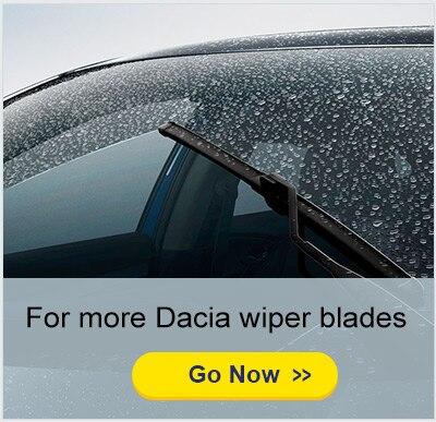 Обновления стеклоочистителей для Renault/Dacia Sandero Mk1 Mk2 точные Fit 2008 2009 2010 2011 2012 2013