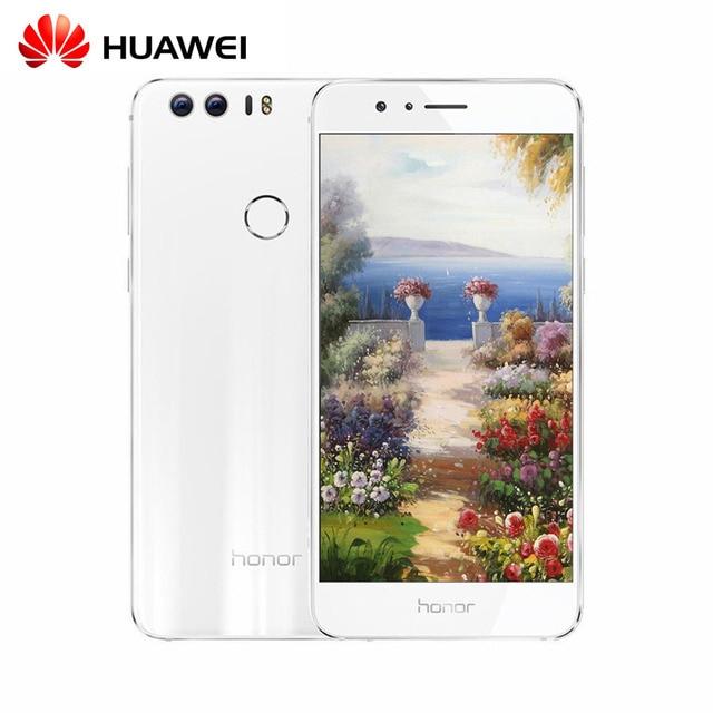 "5.2 ""IPS FHD Оригинальный Huawei Honor 8 Кирин 950 Android 7.0 4 Г TD LTE Смартфон 4 ГБ RAM 32 ГБ ROM 12MP Touch ID Глонасс OTG"