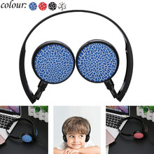 2020 New 3.5MM Port Children Wire Headphones On Ear Foldable