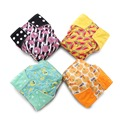 JinoBaby Natural Bamboo AIO Cloth Diapers Reusable Nappy for Newborn to 2T Kids
