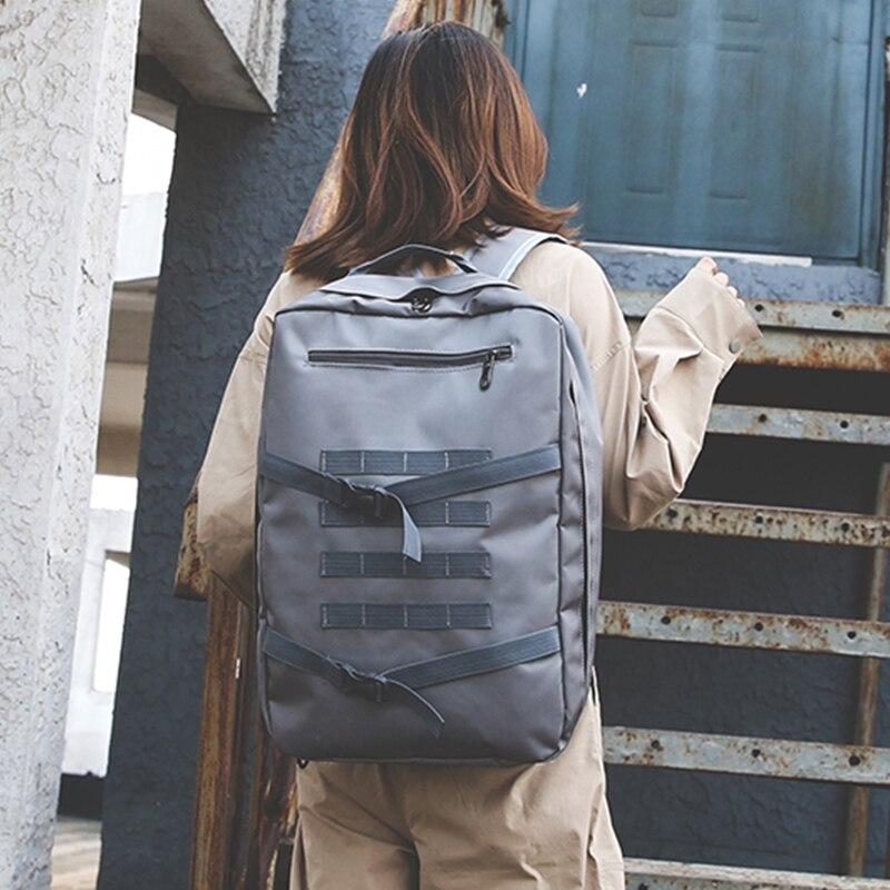 Travel Canvas Large Capacity Backpack Women 2018 Korean Fashion Shoulder Bags Men Sport Backpacks Woman New Arrival Bagpack 2018 new fashion men nylon backpacks travel backpack large capacity men large back bags rucksack waterproof bagpack wholesale