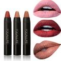 FOCALLURE Nude Color Lip Stick Moisturizer Lipsticks Waterproof Cosmetic Makeup Lips Matte lipstick Brand Matte Cosmetic