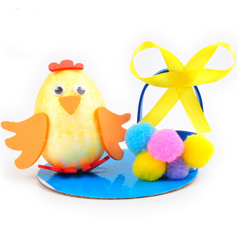 Toys & Hobbies Craft Toys Aggressive Toys For Children Crafts Kids Diy Easter Eggs Hairball Chick Kindergarten Early Learning Education Toys Montessori Teaching Aids Online Discount
