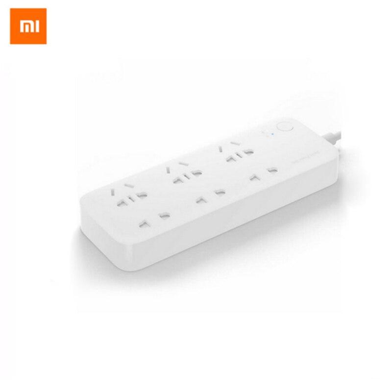 D'origine Xiaomi Smart Power Strip 2 Socket Prise Plug Mi prise intelligente Bande À Domicile pour L'électronique de La Maison WiFi App À Distance contrôle