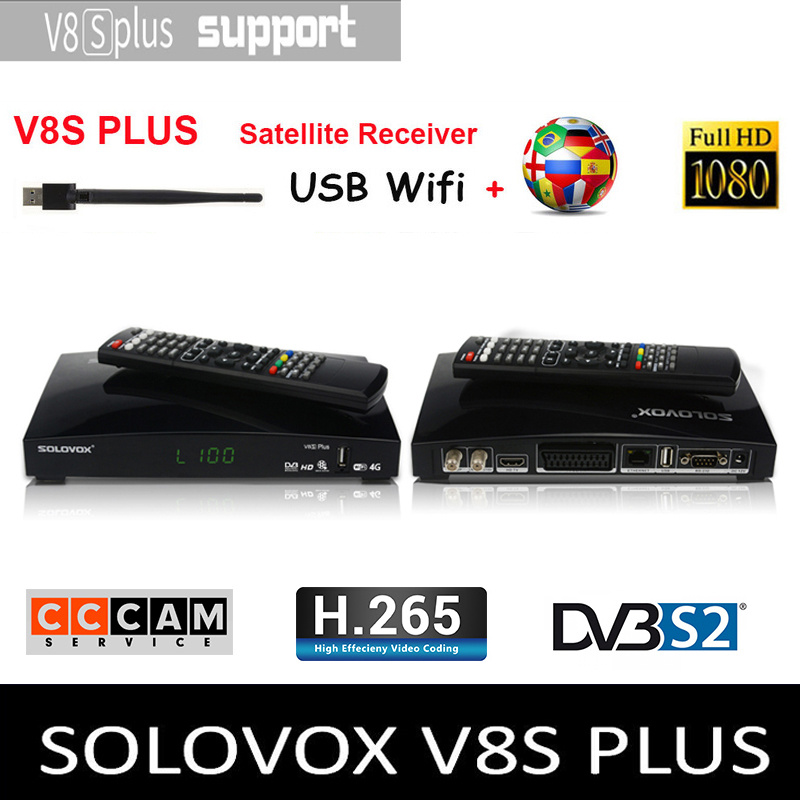 FLASH SALE] 10pcs OPENBOX V8S Plus HD Satellite TV Receiver Support