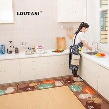 LOUTASI Modern Kitchen Mat Cheaper Anti slip Area Rugs Living Room Balcony Bathroom Carpet Doormat Bath