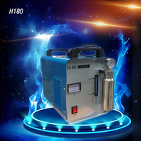 Aletler'ten Parlatıcılar'de 220V yüksek güç H180 akrilik alev parlatma elektrikli taşlama/parlatıcı makinesi akrilik alev parlatıcı 600W 95L/ H