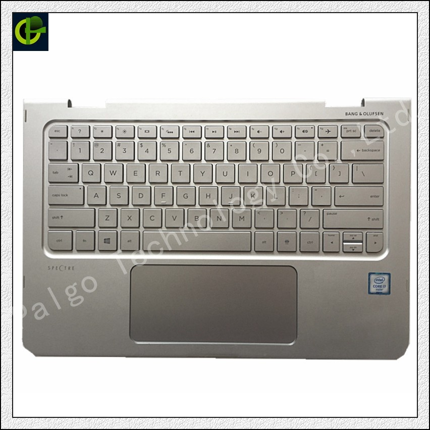 English Backlit keyboard with palmrest cover for HP Spectre X360 13 4000 13-4100 13-4003DX 13T-4000 13-4000 TOUCHPAD USEnglish Backlit keyboard with palmrest cover for HP Spectre X360 13 4000 13-4100 13-4003DX 13T-4000 13-4000 TOUCHPAD US