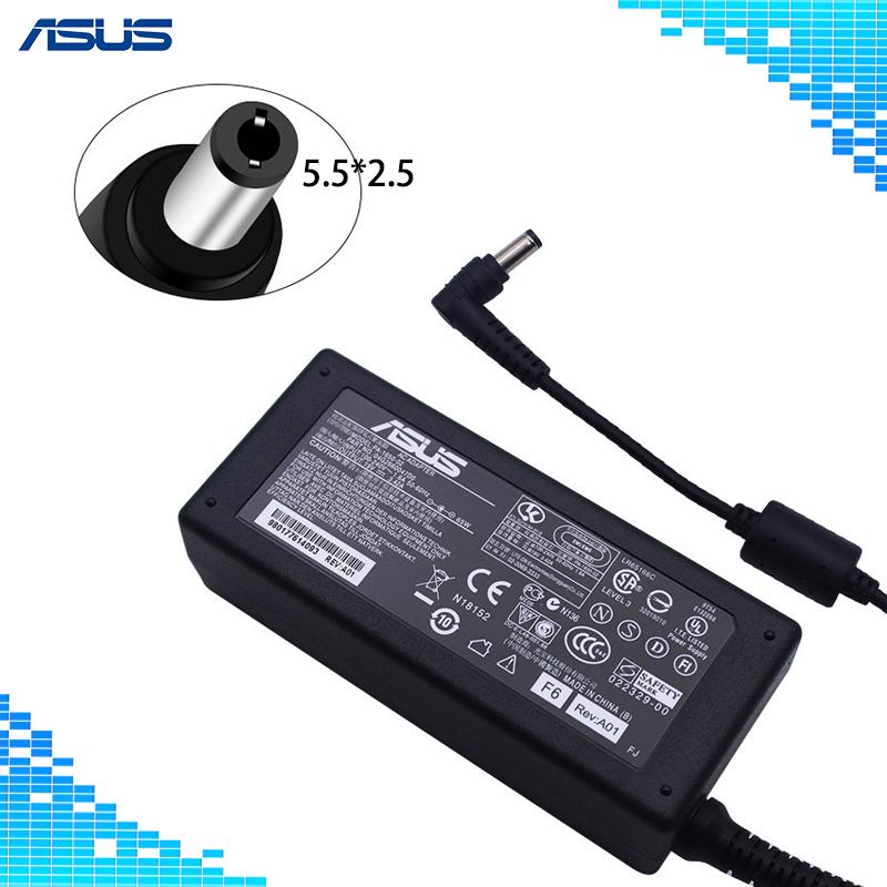 Laptop Adapter 19V 3.42A 65W 5.5*2.5mm PA-1650-02 AC Power Charger For ASUS A6000 F3 X50 X55 A3 A8 F6 F8 F83 F83CR X50 X550V V85 автомобильные антенны f3 f0 f8 f6 g3 g6 s6 l3