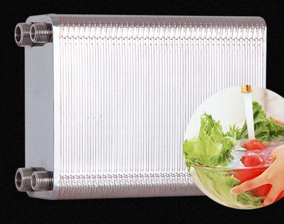 stainless steel heat exchanger Beer Wort Chiller Cooler Home Brewing Beer Brazed plate type water heater SUS304stainless steel heat exchanger Beer Wort Chiller Cooler Home Brewing Beer Brazed plate type water heater SUS304