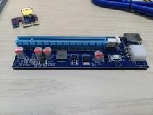 6PACK 2017 New PCIe PCI-E 1X to 16X Pci-e Extender w/ 60cm USB 3.0 Extension Cable usb riser pci-e
