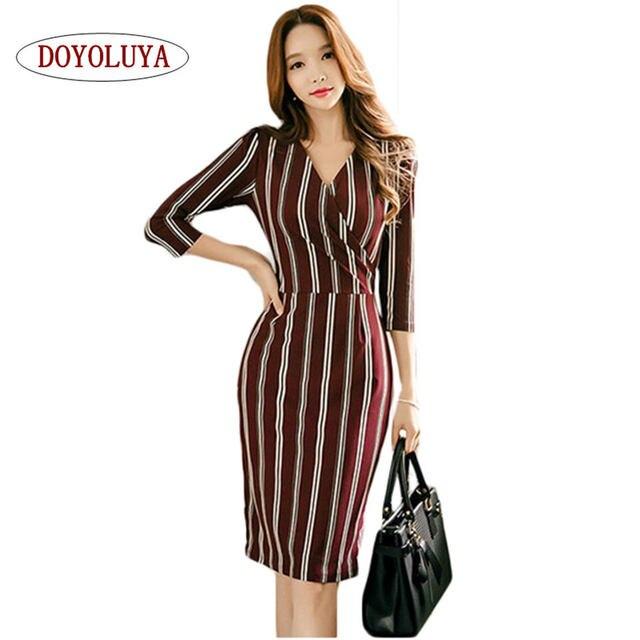 Doyoluya Ladies Elegant Sexy One Shoulder Black White Striped Short