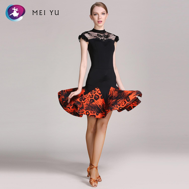 Mei Yu Gb034 En Gb049 Latin Dance Top En Rok Past Dans Jurk Ballroom Kostuum Turnpakje Vrouwen Dame Avondfeest Jurk Fijn Vakmanschap