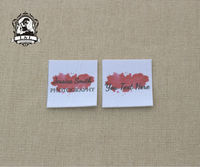 70 Custom Logo Labels Brand Labels Sew On Name Tags Clothing Labels For Children S Clothing