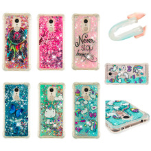 LUCKBUY For Xiaomi Redmi 5 5A Plus Case Luxury Dynamic Glitter Liquid Soft Phone for XIAOMI 4A 4X Note