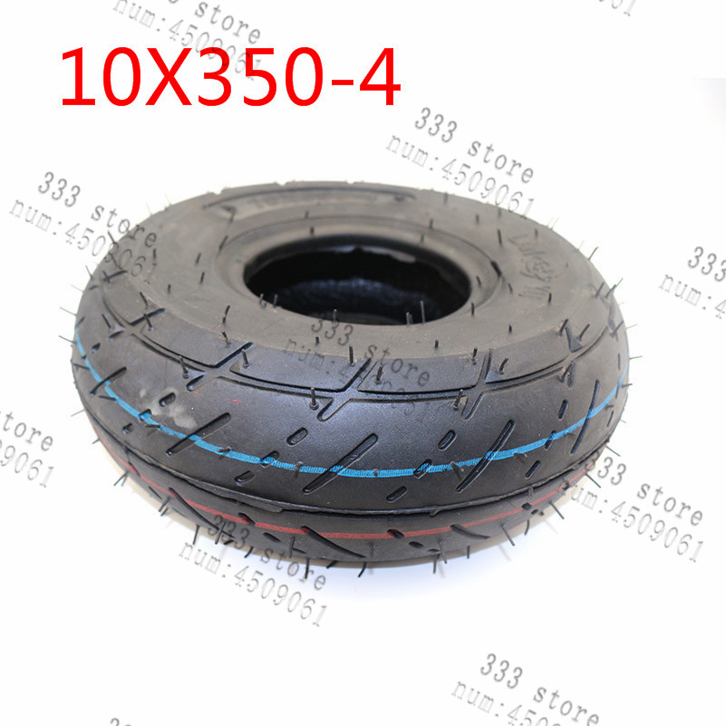 "4"" 4 Inch  Tire 10x350-4 Tire  Mini Moto  And Inner Tube Electric Gasoline Scooter Goped Petrolscooter Minimoto Tyre"