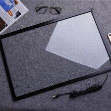 15 дюймов ИК сенсорная рамка 10 точек инфракрасный сенсорный экран панель мульти сенсорный экран Наложение для монитора ПК