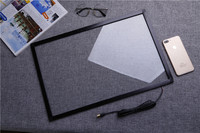 15 inch IR touch frame 10 points infrared touch screen panel multi touchscreen overlay for monitor pc