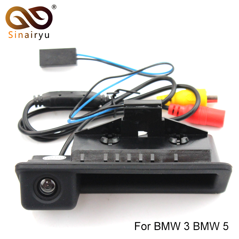 Backup Camera /& Monitor For BMW E82 E88 E84 E90 E91 E92 E93 E60 E61 E70 E71 E72