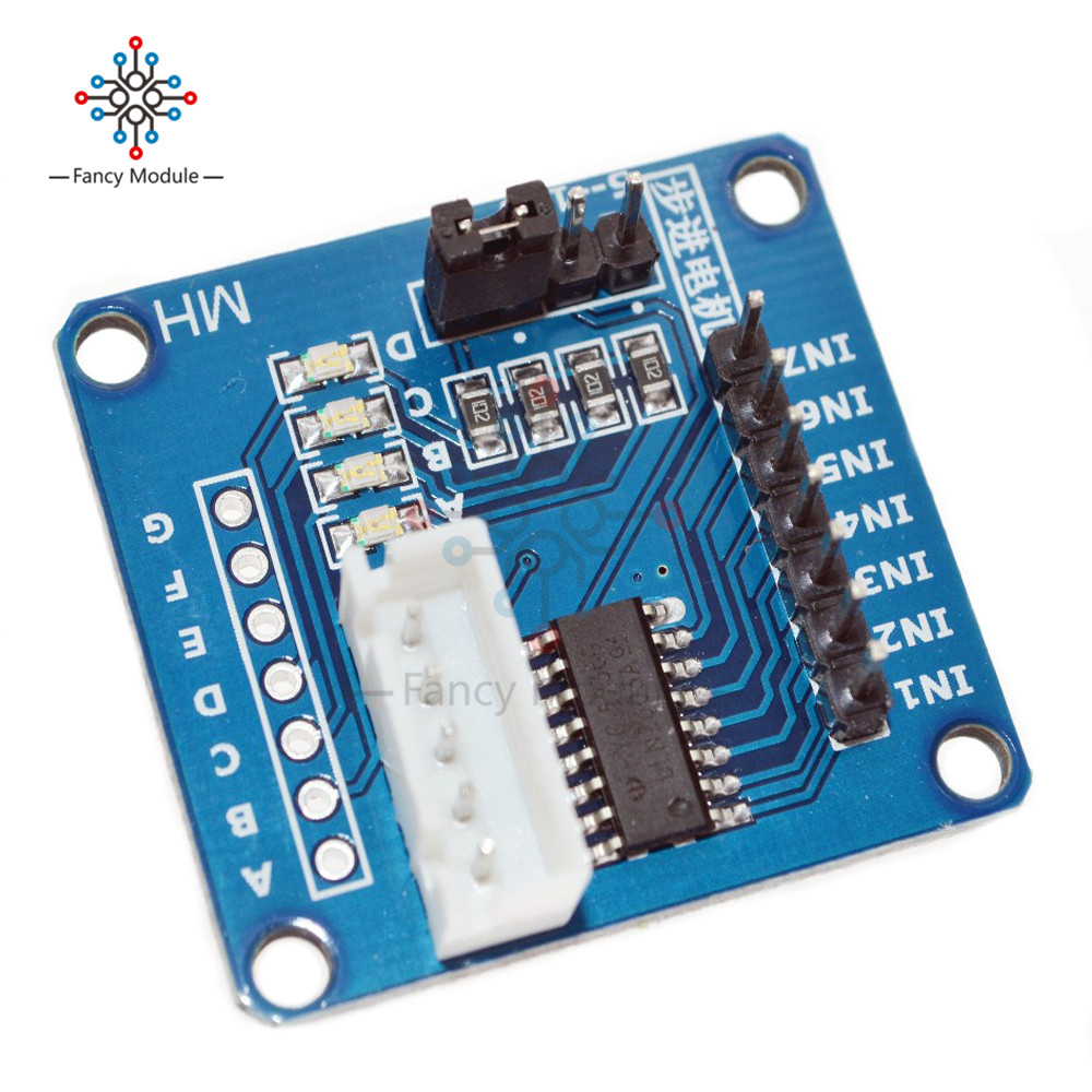 New Uln2003 Stepper Motor Driver Board Test Module For Arduino Avr Dc Relay Circuit Ic Smd In From Home Improvement On Alibaba
