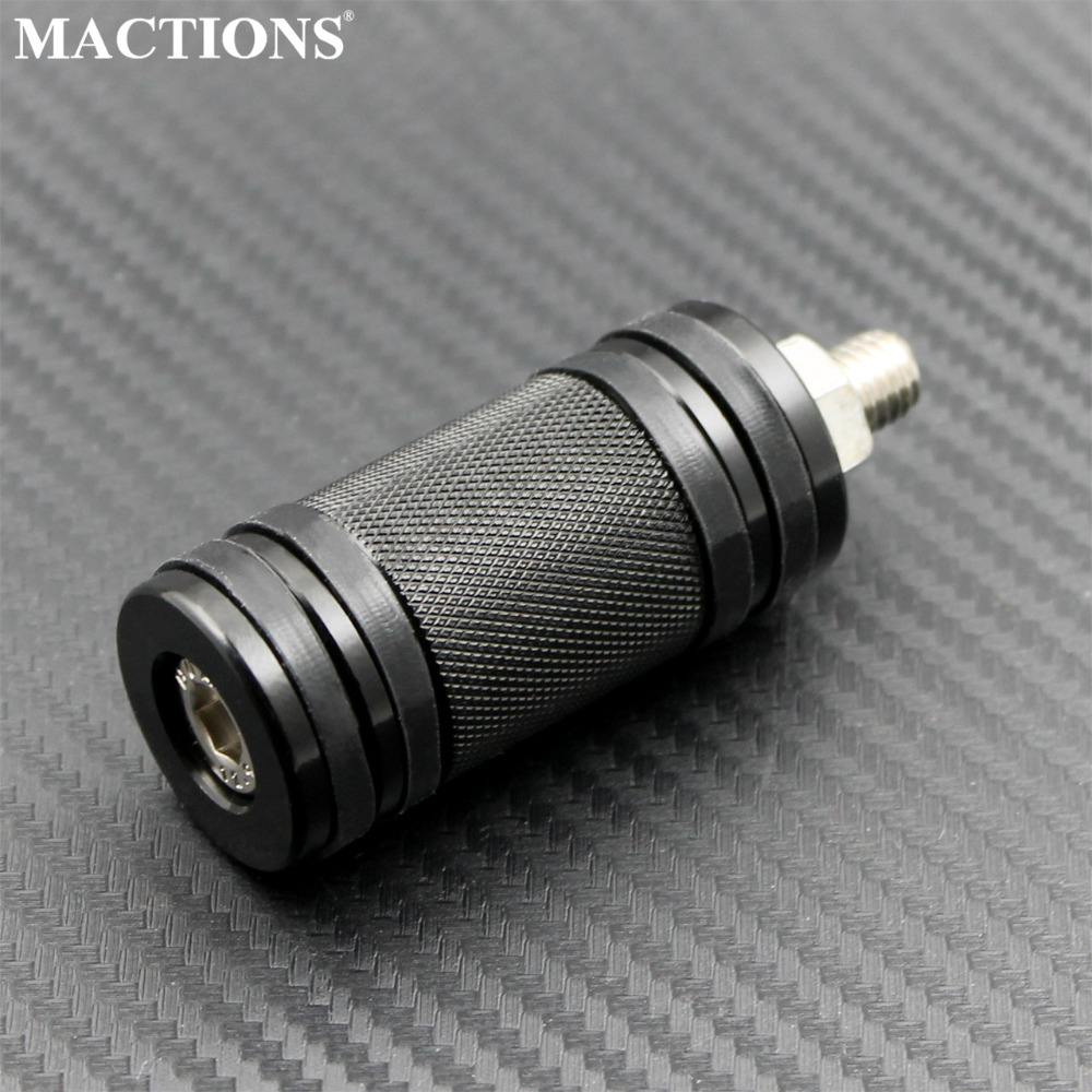 Mactions Shifter Foot Peg Rest For Harley Dyna Sportster 883 Softail Touring Custom Electra CVO Black Motorcycle CNC Foot Rest