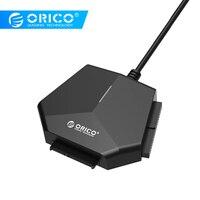 ORICO U3TIS Sata to USB 3.0 Support 2.5 / 3.5 inch SATA IDE CD ROM DVD ROM High speed 12V Power Tool free Black Hot Swap