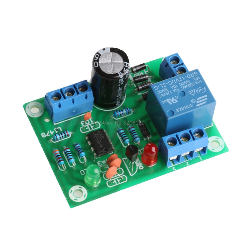 For 1Pc Liquid Level Controller Module Water Level Detection Sensor 9V-12V AC/DC Promotion
