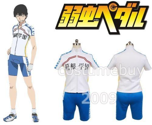 a161e7a9e Yowamushi Pedal Hakogaku Yasutomo Arakita Bicycle Race Suit Jersey Short  Sleeve Cycling Clothe For Men Anime Cosplay Costume-in Anime Costumes from  Novelty ...