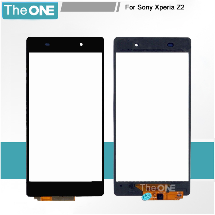High Quality For Sony Xperia Z2 Touch Screen D6503 D6502 Digitizer Replacement Parts Z2 L50w Touch Screen Digitizer Panel high quality black for sony xperia z2