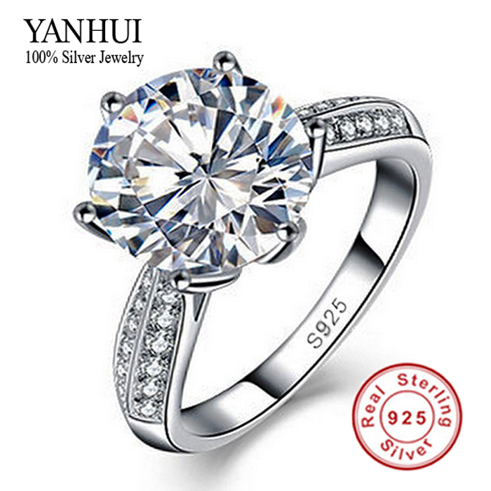 channel set princess micro pave round engagement ring top view
