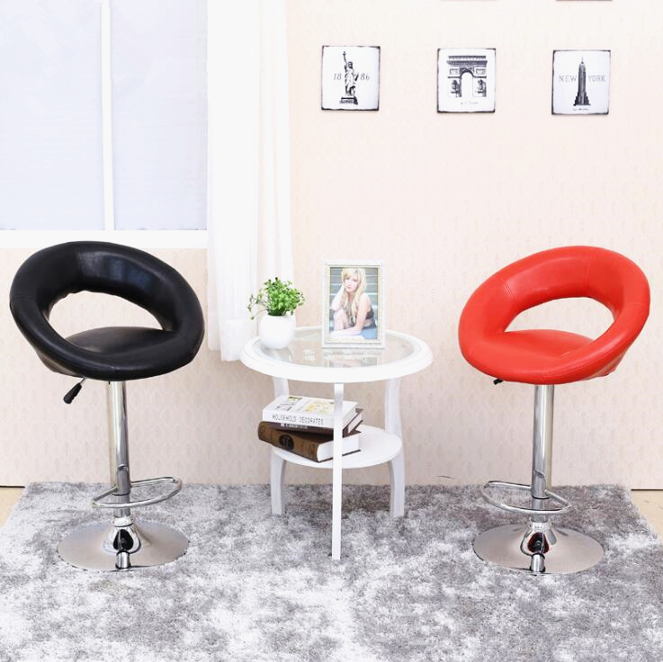 household garden chair hotel coffee house classroom stool pu