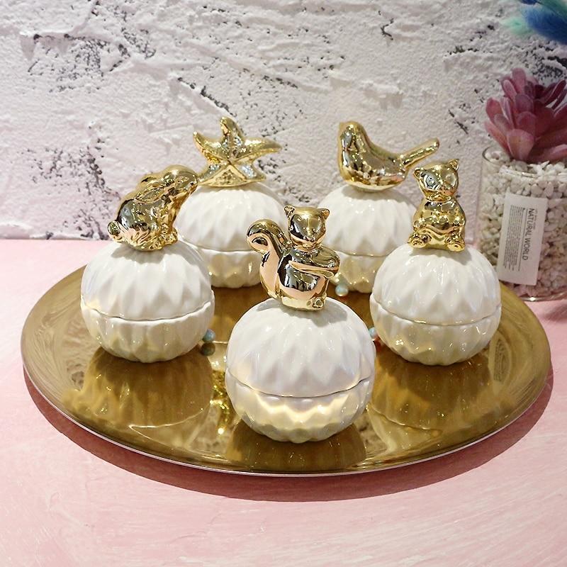 NEWYEARNEW Jewelry-Box Vintage-Box Ceramic Princess Storage-Package Wedding-Birthday-Gift