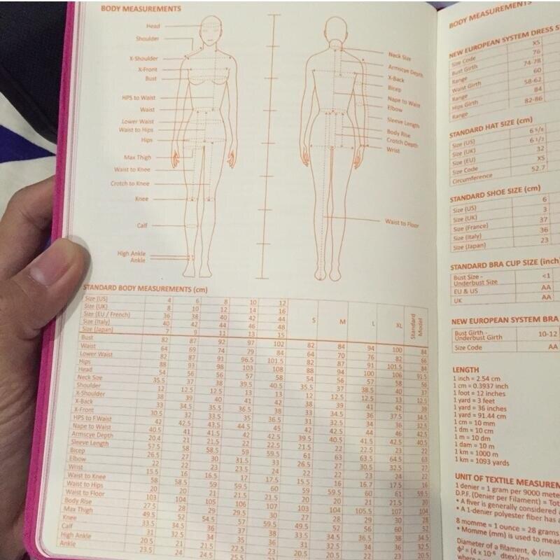 A5 Fashion Designer Notebook Marker Sketchbook Prickad linje Body - Block och anteckningsböcker - Foto 5