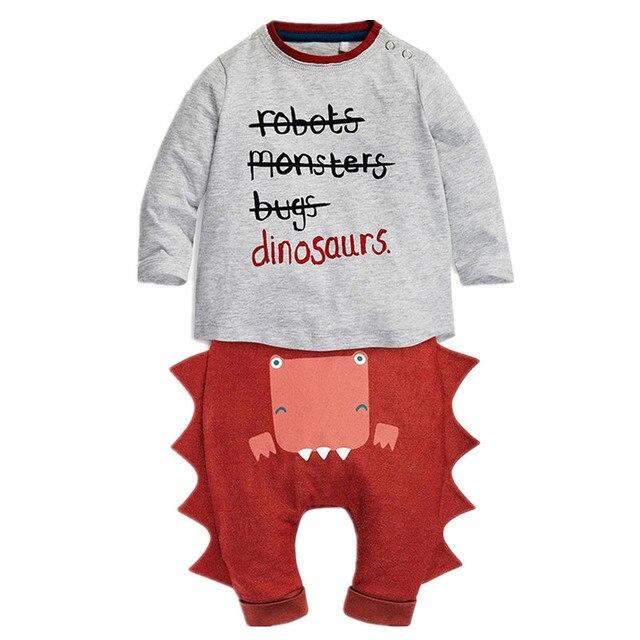 529154e42d85 Infant Toddler Kids Child Baby Boy Girl Long Sleeve T shirt Tops ...