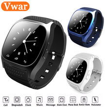 Waterproof Smartwatch M26 Bluetooth Smart Watch With LED Alitmeter Music Player Pedometer For Android Smart Phone T30 VS GT08 U8