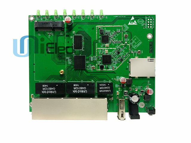 MTK MT7621 inalámbricas WiFi de doble banda Router 4G LTE GSM Gigabit MT7621A chipset tarjeta Sim PCBA ODM OEM Junta
