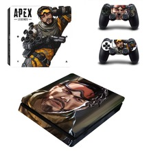 APEX Legends PS4 Slim Skin Sticker Vinyl For PlayStation 4 Console and Controllers PS4 Slim Skin Stickers Decal