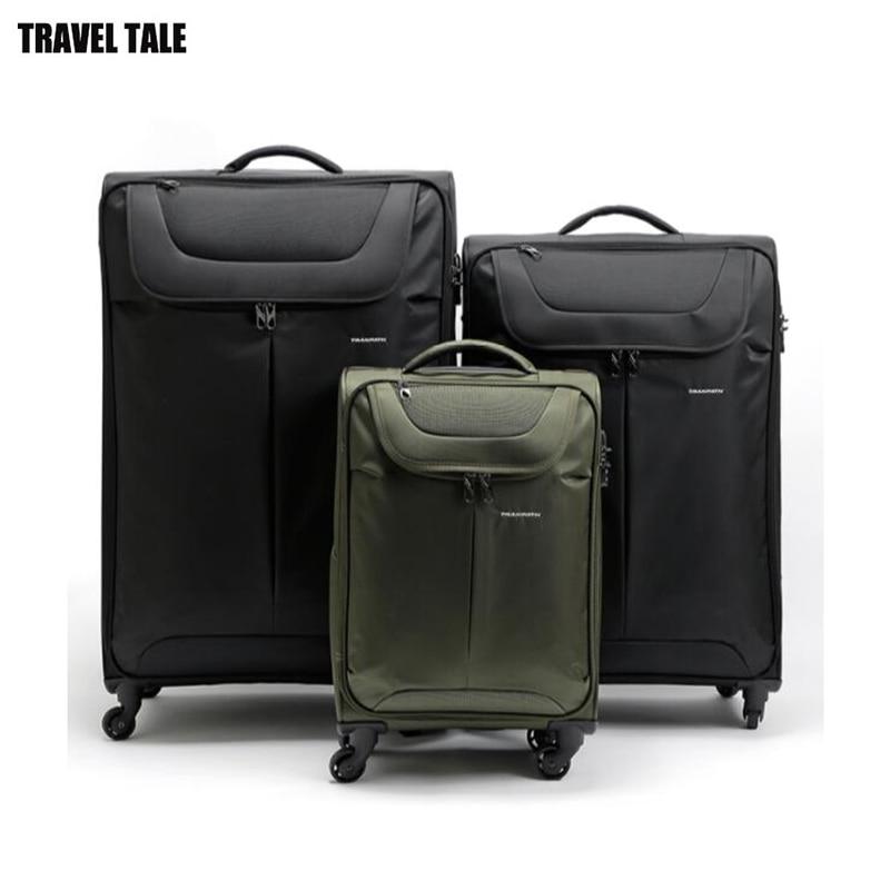 TRAVEL TALE 32 นิ้วกระเป๋าเดินทาง super light ขนาดใหญ่ความจุกระเป๋าเดินทางกล่อง-ใน กระเป๋าเดินทางแบบลาก จาก สัมภาระและกระเป๋า บน   2