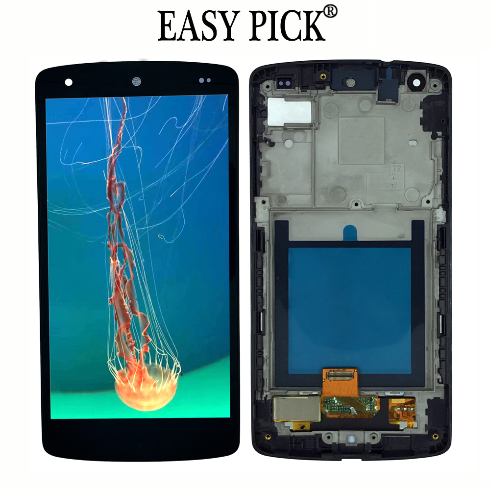For LG Google Nexus 5 D820 D821 Touch Screen LCD Display Digitize Assembly with FrameFor LG Google Nexus 5 D820 D821 Touch Screen LCD Display Digitize Assembly with Frame